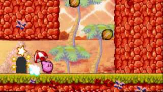 Kirby Nightmare in Dreamland Walkthrough part 6-the orange sea
