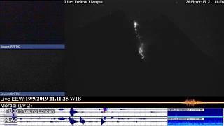 Volcano Merapi - 19/09 21:09 WIB