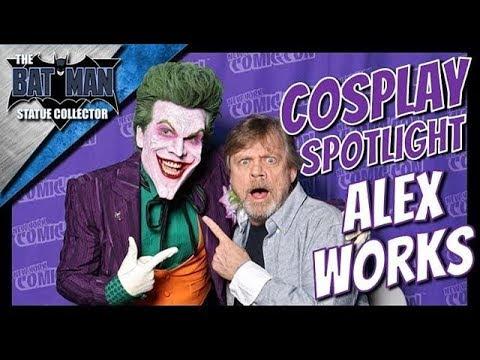 Joker Cosplay AlexWorks Interview