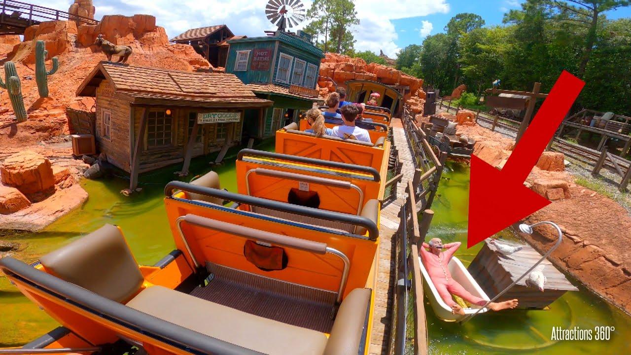 Big Thunder Coaster Ride 2020 - Magic Kingdom - Disney Theme Park