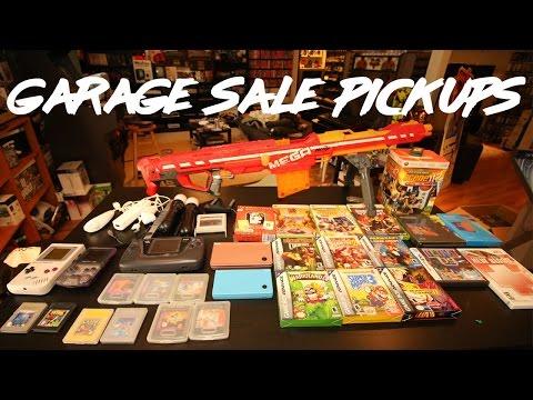 Live Garage Sale Pickups - Gameboy, Playstation, Nerf Guns & More!