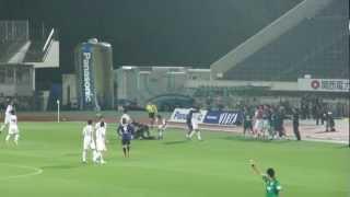 2012年J1第13節 ガンバ大阪 VS サガン鳥栖.