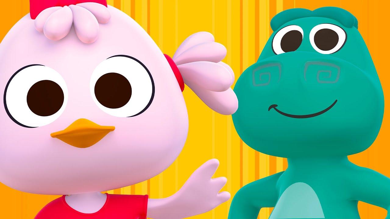 ¡A Bailar y Cantar con Lulú, El Cocodrilo Dante y Más Animales del Zoo!  | Canciones del Zoo