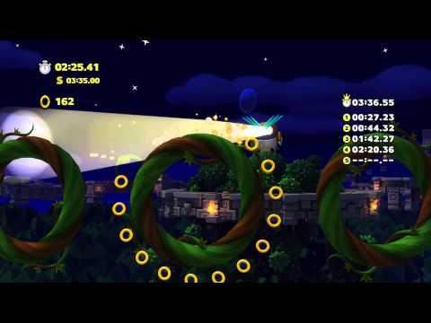 Sonic Lost World - Wii U - Silent Forest Zone 2