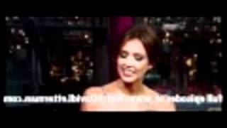 WATCH THIS Jessica Alba in Late Show with David Letterman 2010 08 30 (Part 1)