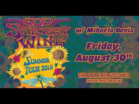 God Street Wine Full Show - Live at Ardmore Music Hall on 8/30/19