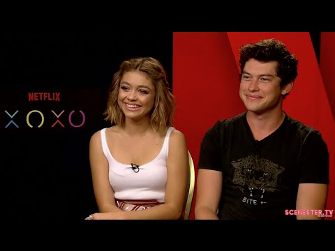Sarah Hyland and Graham Phillips  About XOXO - EDM Festival Dream-Chasing Drama on Netflix