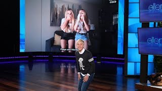 Ellen Puts Fans' Dance Skills to the Test
