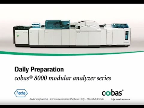 daily prep and maintenance overview for your cobas 8000 modular rh youtube com cobas 8000 user manual cobas 8000 manuale
