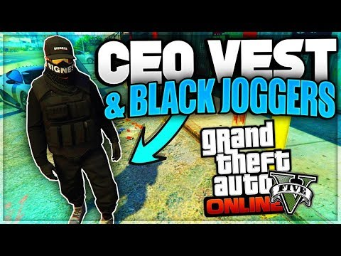 HOW TO GET CEO VEST & JOGGERS GLITCH! Get A MODDED OUTFIT! (GTA 5 Online Clothing Glitches 1.46)