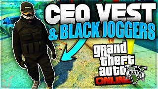 GTA 5 Online Solo Tan Joggers Glitch Save Any CEO Outfits GTA 5