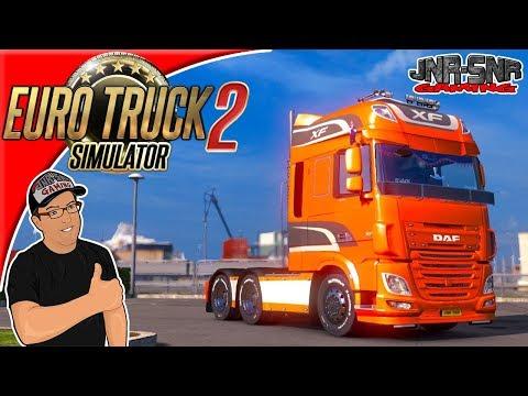 Euro Truck Simulator 2 DAF Tuning Pack in Scandinavia
