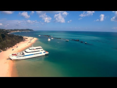 Moreton Island Full-Day Snorkel, Kayak & Sand-toboggan Tour - Video