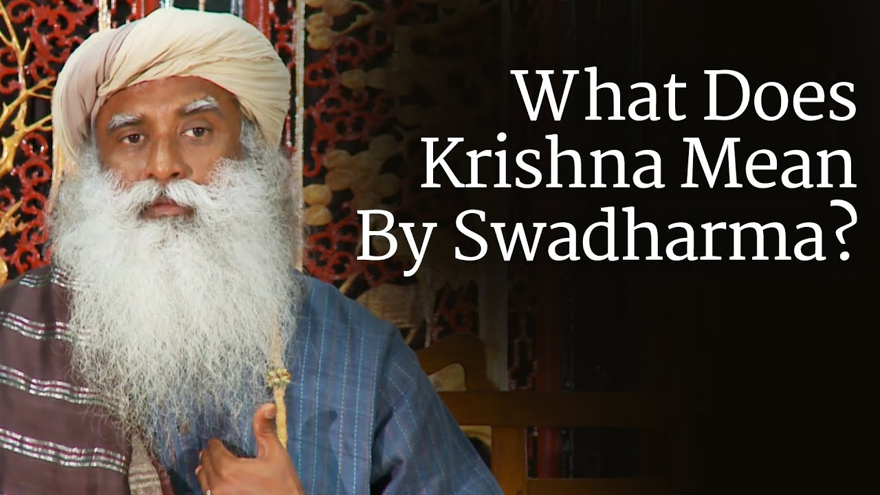 how to find your swadharma