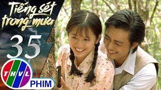 THVL | Tiếng sét trong mưa - Tập 35[4]: Nụ hôn bất chợt của Bình khiến Phượng bối rối