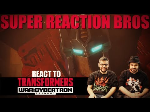 SRB Reacts to Transformers: War for Cybertron Trilogy: Siege | Official Teaser Trailer