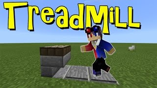 Working TREADMILL !!! No Mod, No Addon | Minecraft PE | MCPE 1.1 Command Block Creation