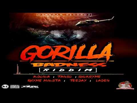 GORILLA BADNESS RIDDIM INSTRUMENTAL [DARSHAN RECORDZ / 4THGENNA MUSIC]