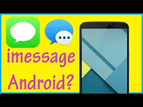 Do we need iMessage for Android? - YouTube