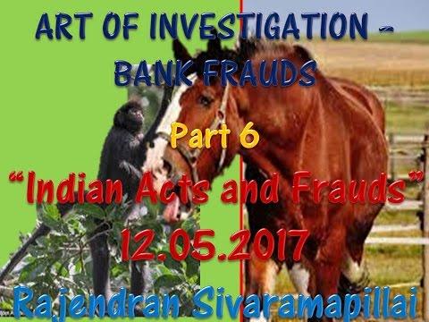 """TEASER FOR PART 6 """"Art of investigation - Bank Frauds"""""""