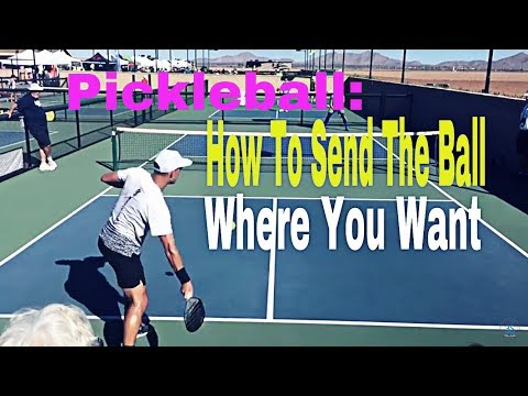 Pickleball: How to Control Direction