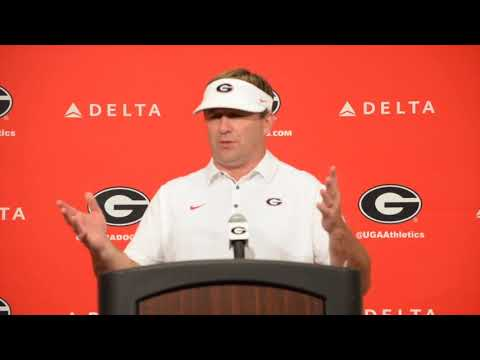 Georgia HC Kirby Smart talks 31-3 victory over Mississippi State.
