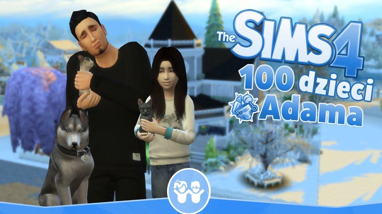 Download The Sims 4 Pl : Wyzwanie 100 dzieci Adama #121 ( Nowy dom i nowi członkowie rodziny )