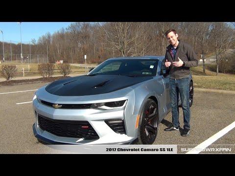 Review: 2017 Chevrolet Camaro SS 1LE (Manual)