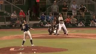Canes Baseball vs. Pittsburgh | Highlights | 4.21.18