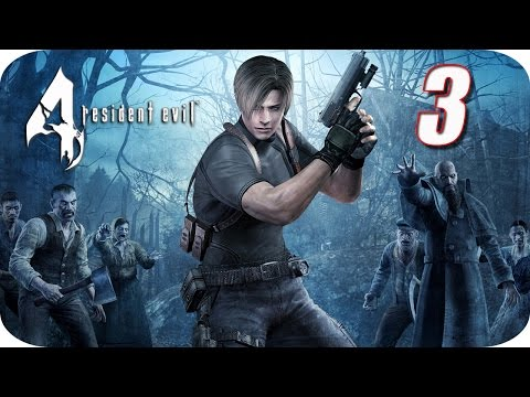 Resident Evil 4 HD - Gameplay Español - Capitulo 3 - El Monstruo del Lago