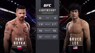 Download Yuri Boyka Vs Bruce Lee 2 EA Sports UFC 2 Mp3 and Videos