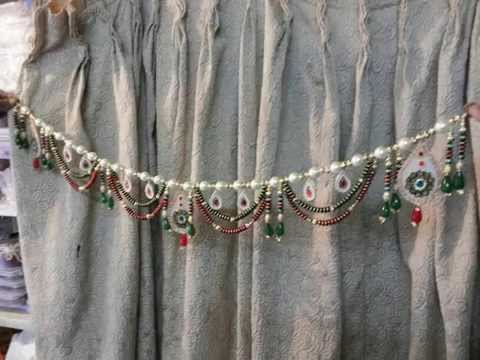 new torans wall hangings door hanging bandhanwars 2014 ranjanaarts - YouTube & new torans wall hangings door hanging bandhanwars 2014 ranjanaarts ...