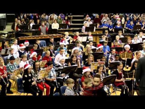 6th grade Grain Valley South Middle School Band - Song 3