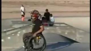 Aaron Fotheringham - Saltos en silla de ruedas y el primer backflip del mundo en silla de ruedas