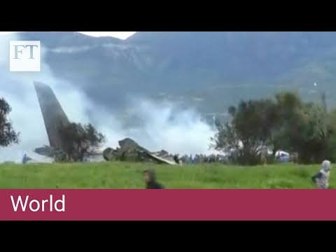 More than 250 killed in Algerian military plane crash