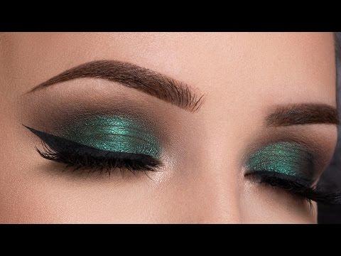 Metallic Green Smokey Eyes – Makeup Tutorial