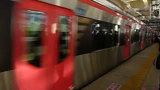 [トップナンバー]都営浅草線5500形エアポート急行「印西牧の原行き」京急蒲田駅到着