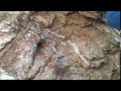 Red Bank mine site Mother lode vein