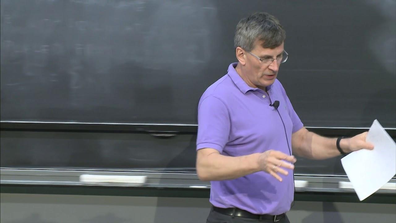 Lecture 6: Driven Oscillators, Resonance | Part I