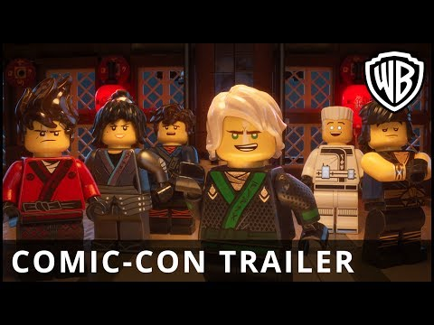 The LEGO®  Ninjago®  Movie - Comic-Con Online Trailer - Warner Bros. UK