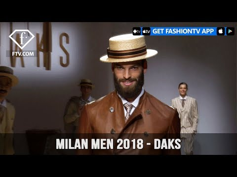 Milan Men Spring/Summer 2018 - Daks Backstage | FashionTV