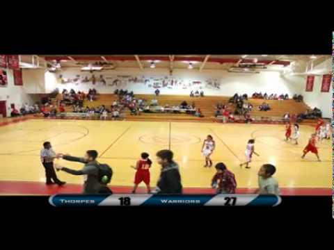 Girl's High School Basketball: Pine Ridge Lady Thorpes vs. St. Francis Lady Warriors