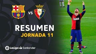 Resumen de FC Barcelona vs CA Osasuna (4-0)
