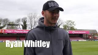 Ryan Whitley signs new deal