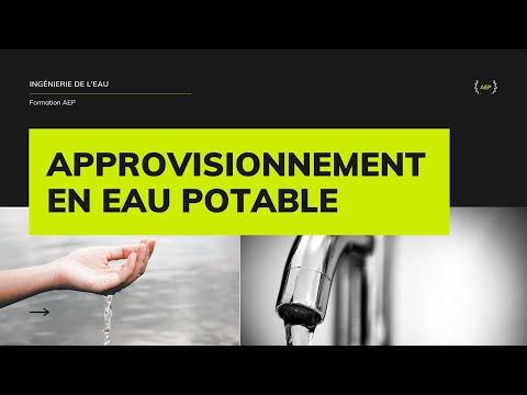Formation AEP: Cours Alimentation en eau Potable PARTIE I