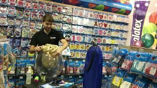 Chrome balloons і Deco bubbles у Веселій Затії! Зразки тестує Вадим Шушканов!
