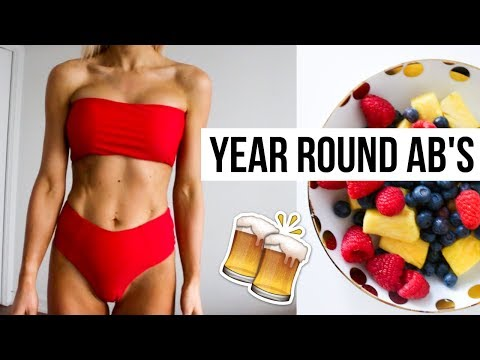 Everything I Eat in a Day for Abs | HEALTHY MEAL IDEAS  & ALCOHOL | Semi-Plant Based