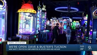 Dave And Busters Reopens With Some Safety Precautions