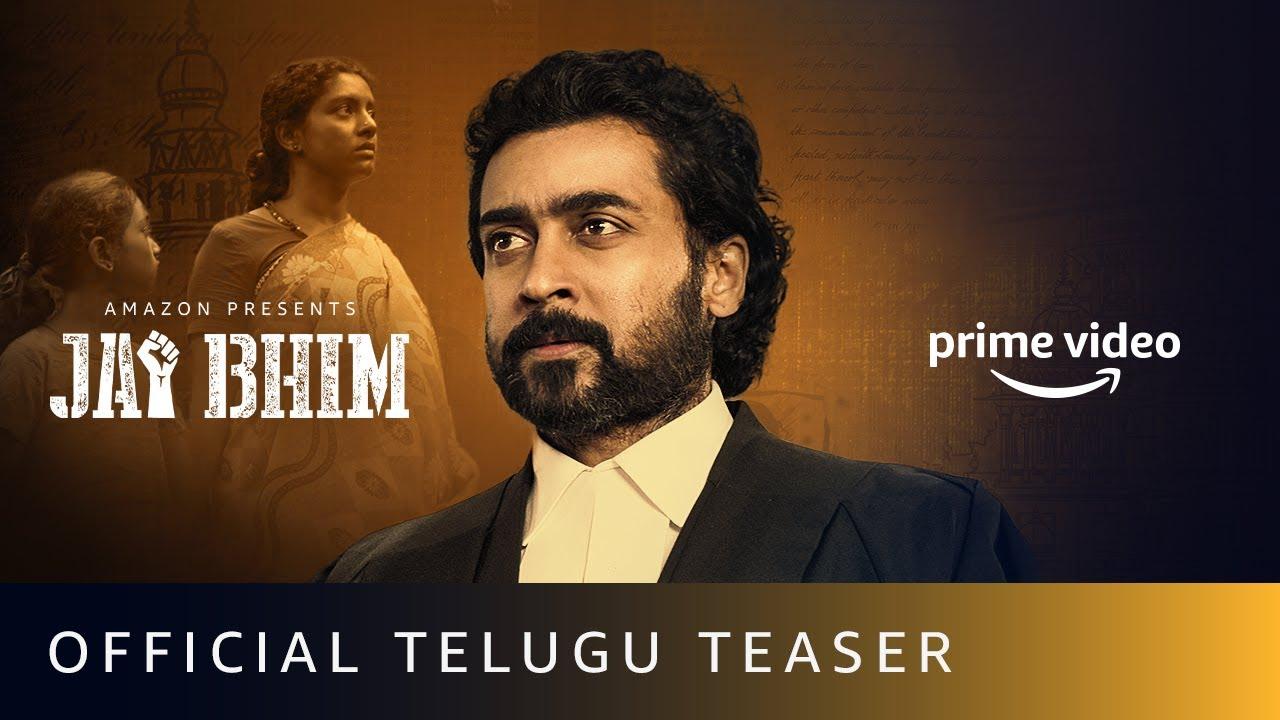 Download Jai Bhim Official Teaser (Telugu) | Suriya | New Tamil Movie 2021 | Amazon Prime video
