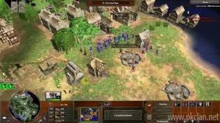 Age of Empires 3: Expert Match | German Vs. Dutch on Yucatan!
